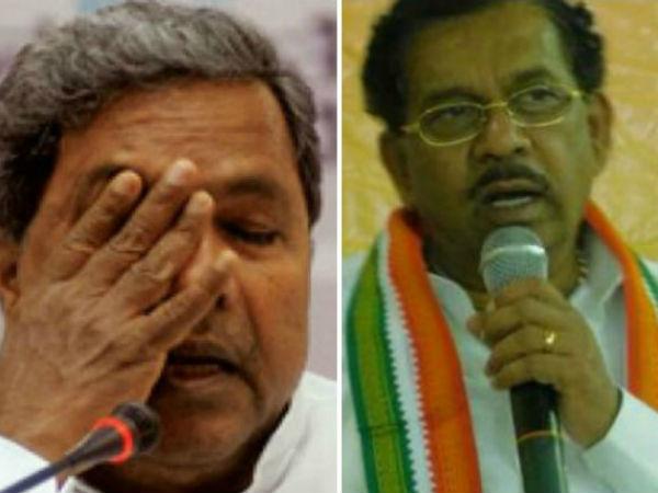 Congress Icon Siddaramaiah Worried About Parameshwar Lesson