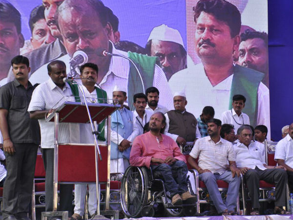 Elections 2018: HD Kumaraswamy slams Congress for Water problem across state.