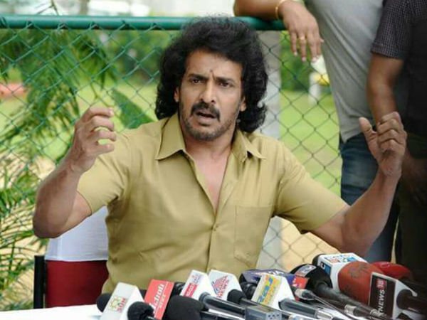 Upendra participating in film shooting instead of politics