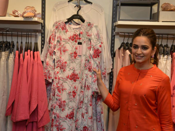 Kriti Kharbanda inaugurates Project Eve store Garuda Mall