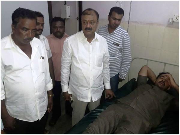 Attack On Election Campaign Mandya Three Injured