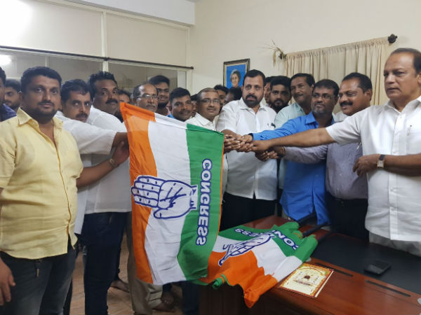 More than 50 BJP, JDS leaders joined Congress