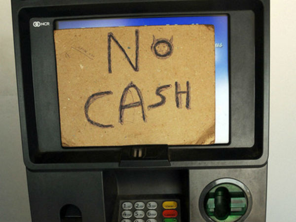 Atms Cash Crunch In Many States Including Karnataka