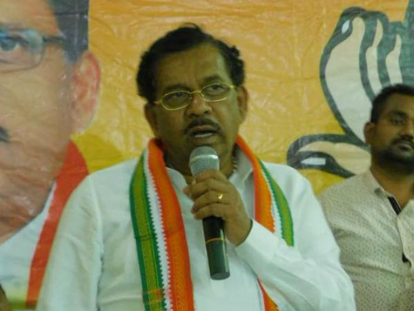my ticket was not confirmed yet: KPCC president Parameshwar