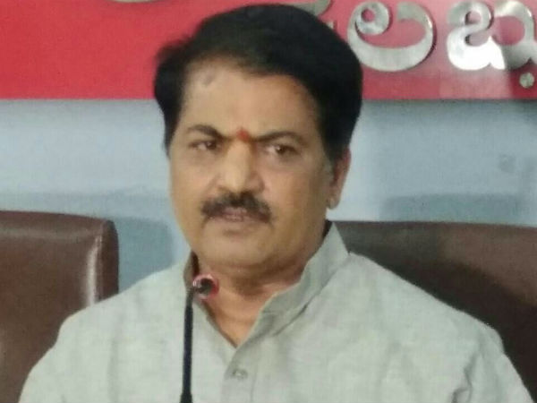 Chandrashekhar Hiremath upset with BJP leader