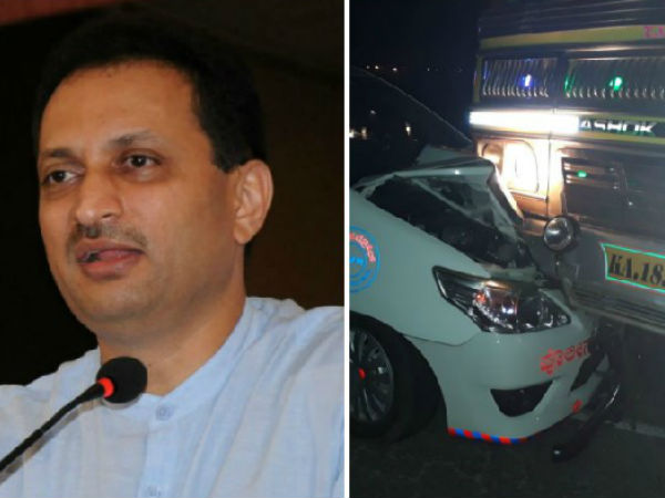 Anant Kumar Hegde Claims Attempt On His Life His Tweets On The Accident