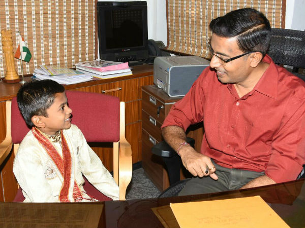 6 year old boy will rattle all 224 Assembly constituencies names