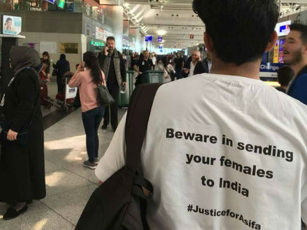 Kathua rape case: T-shirts stating Enmity towards India goes viral on social media