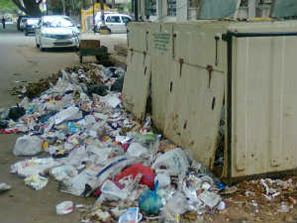 BBMP fails to utilize plastic in road construction