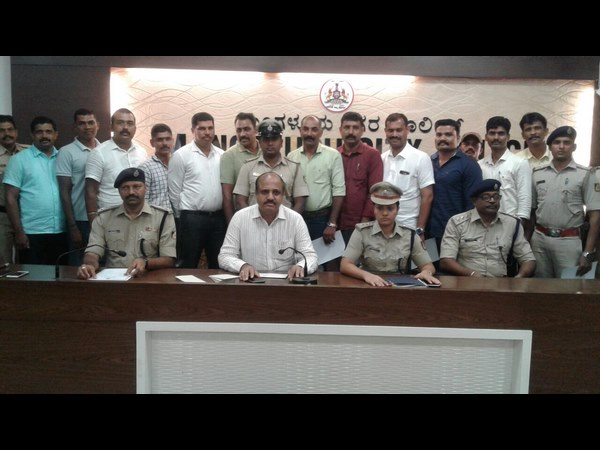 Mangaluru new police commissioner Vipul Kumar Takes Charge