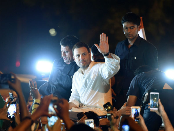 Midnight March Rahul Urges Centre To Act Against Atrocities On Women