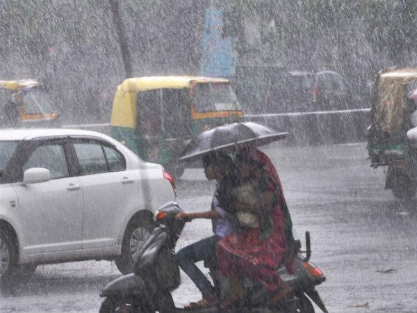 Rain Brings Pleasure To Bengaluru