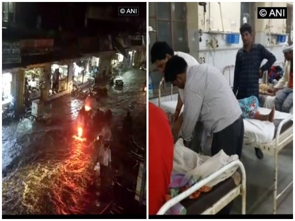 Many dead in Rajasthan rainstorm
