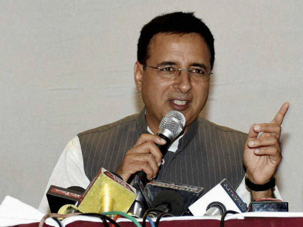 BJP's nationwide fast will result in its 'sanyas' in Karnataka: Surjewala
