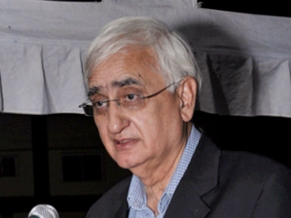 Congress hands stained with Muslims blood: Salman Khurshid