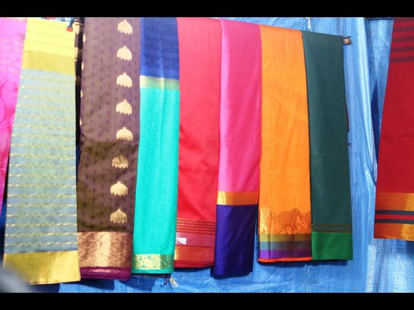 Election effect: high demands for sarees