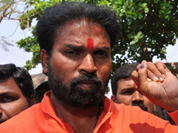 Tippeswamy let show his power in Molakalmuru, says Sriramulu