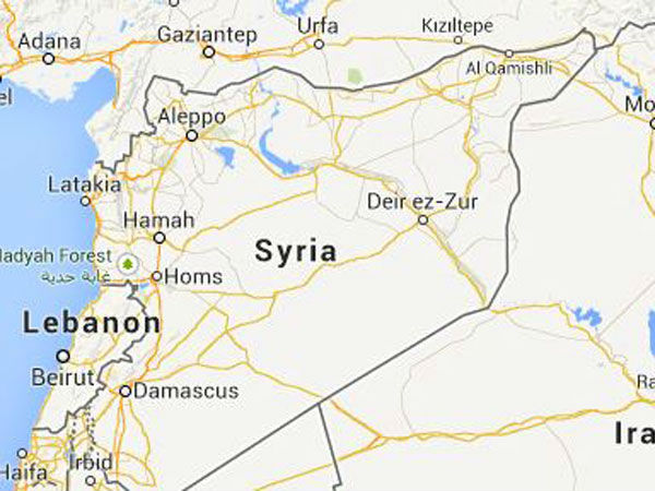 After chemical attack, Strikes hit Syrian airfield