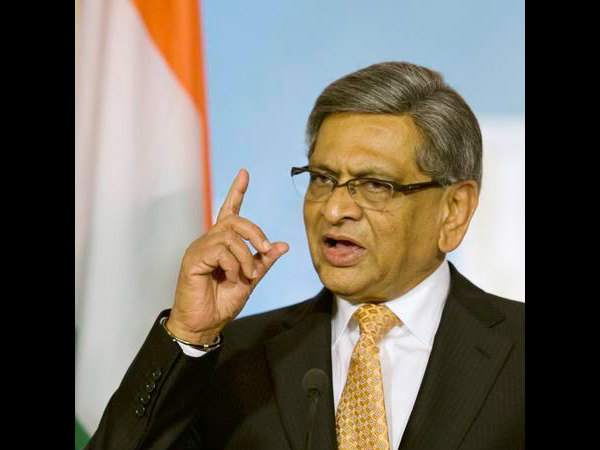 Is S M Krishna re-joining Congress? BJP says no, Congress says we don't know