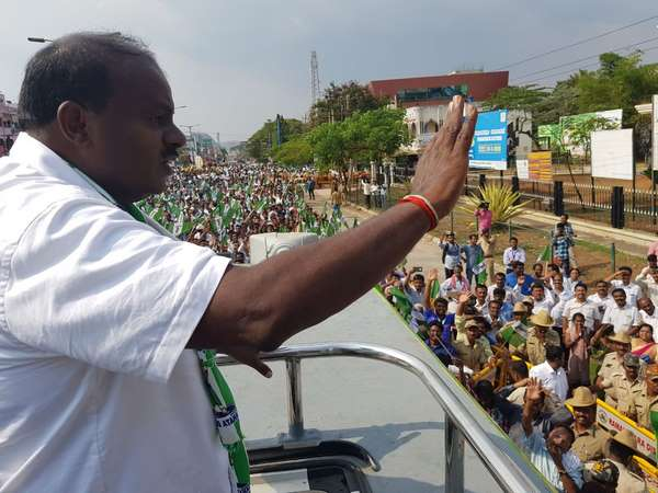 I Never Harassed Anybody In The Constituency Said Hd Kumaraswamy