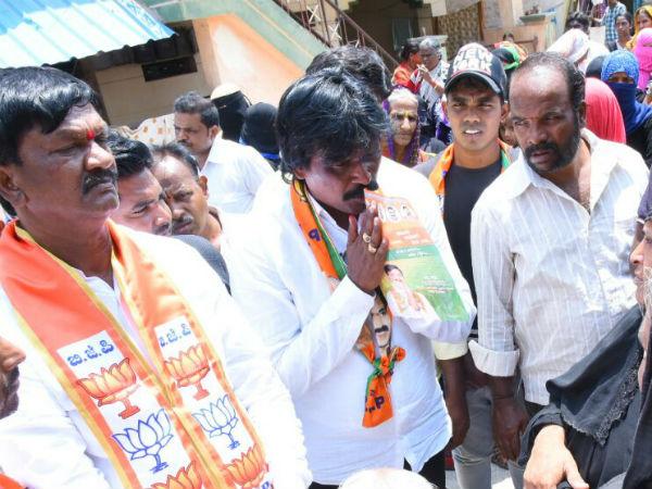Sanna Pakirappa Is Rival Of Congress Candidate B Nagendra