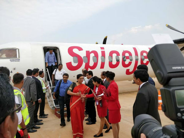 Spicejet Launches New Flights Connecting 4 Major Cities From Hubballi