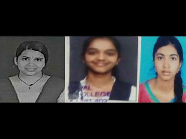 Soundarya, Amita, Maithri, Ekta topper of Uttara Kannada District