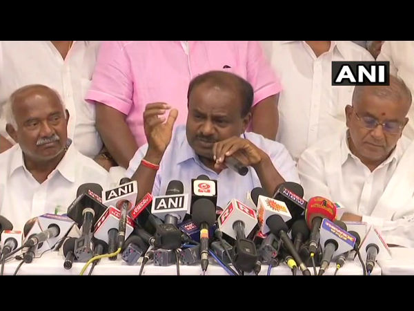 JDS MLAs are being offered Rs 100 crore each: HD Kumaraswamy