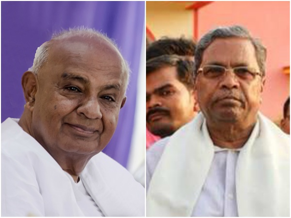 Siddaramaiah wishes HD Deve Gowda on his birthday