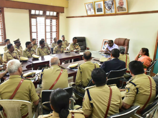 HDK clarifies no political intervention in police department