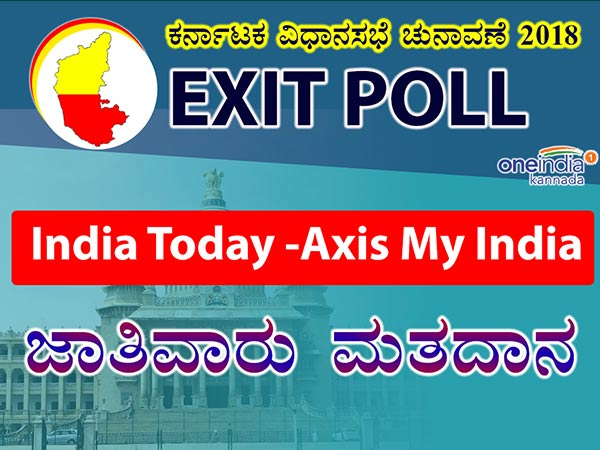 Karnataka Assembly Elections 2018: India Today – Axis My India caste-wise voting