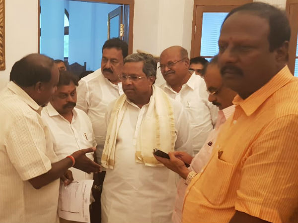 Siddaramaiah to meet JDS president Deve Gowda today