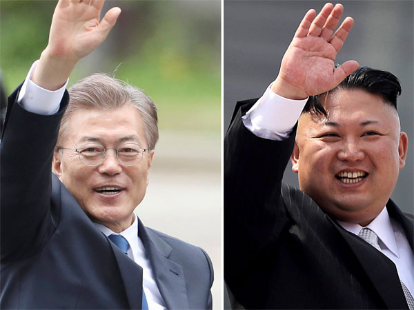 North and South Korean leaders meet in surprise summit