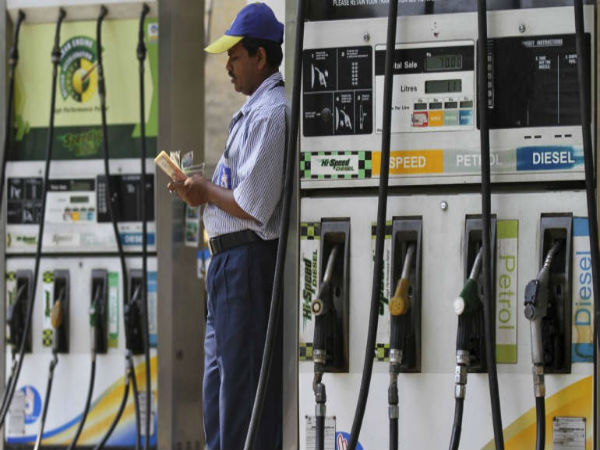 Petrol price cut for the twelfth day in a row