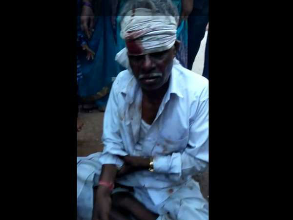 Post election violence in Chamundeshwari