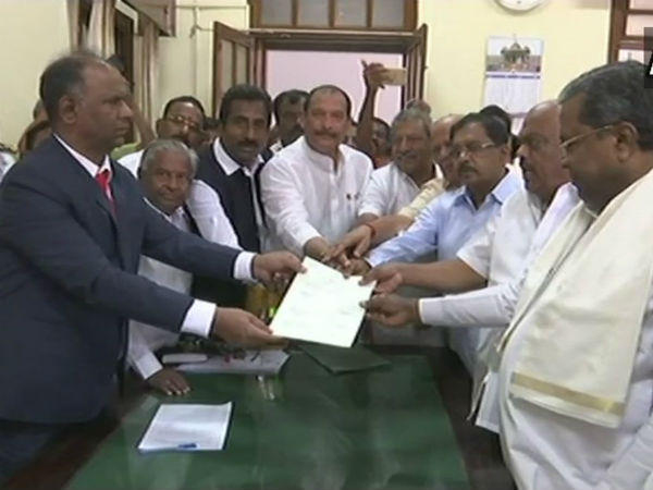 Congress MLA Ramesh Kumar files nomination for speaker election