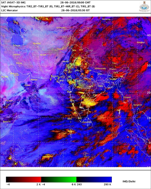 Monsoon update: Heavy rain to be continued in coastal Karnataka
