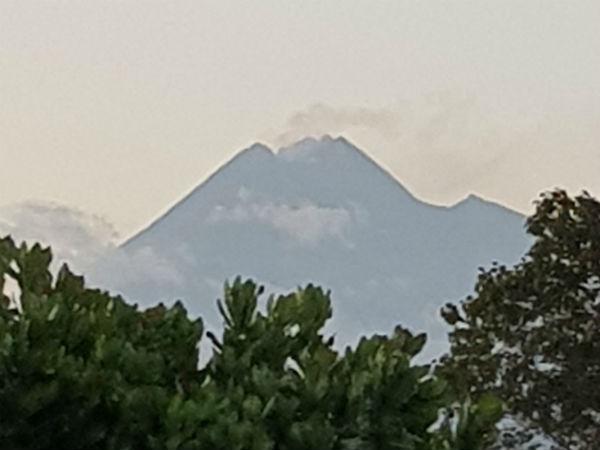Mesmerising Merapi Volcano In Indonesia