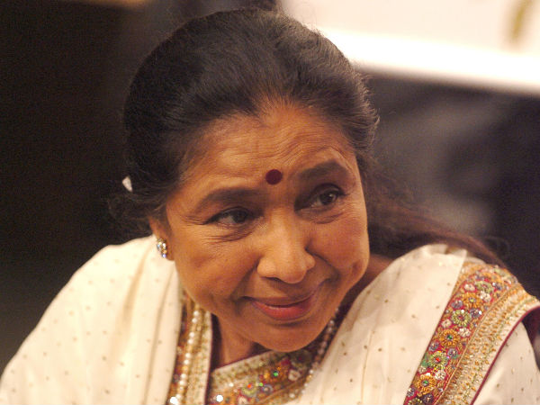 Sound of silent with legendary Asha Bhosle