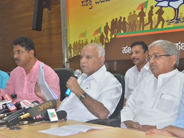 Jayanagar elections : We lost because of Congress-JDS alliance says BSY