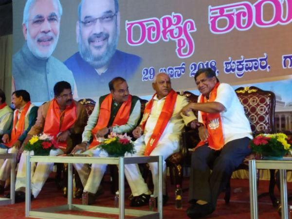 BJP high command sends 8 points formula to Karnataka BJP for Lokasabha elections