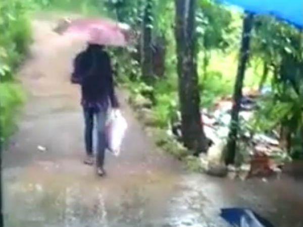 Viral video: Man carrying child in a carrybag