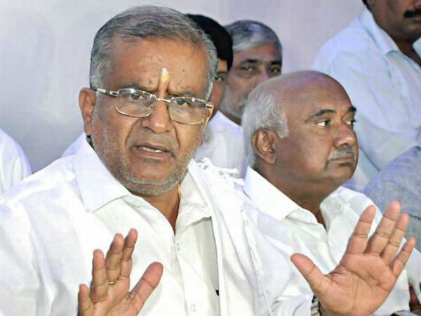 Karnataka Cabinet Is Changing Portfolio Of Gt Devegowda A Proper Move