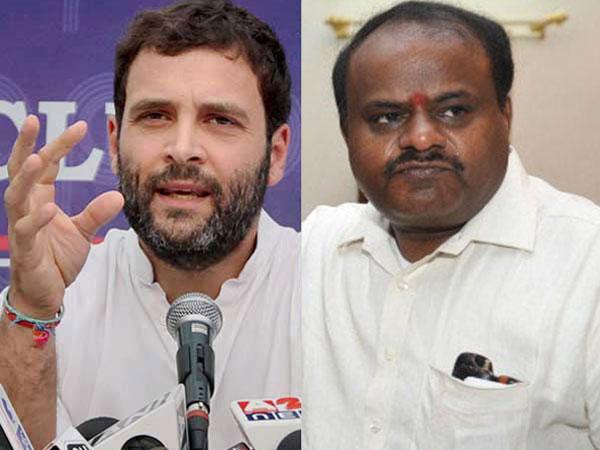 Karnataka Cabinet Rahul Gandhi Calls Hd Kumarswamy