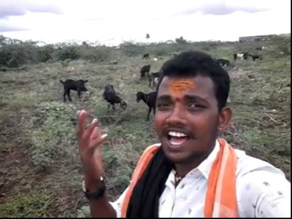 Shepherd Hanumantha Battura Song Went Viral In Social Media