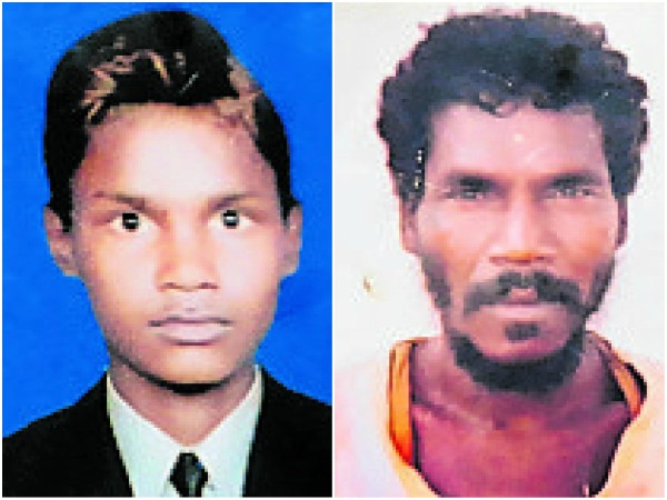 Father and Son died by touch the electric wire at Kuse Gowdas hundi