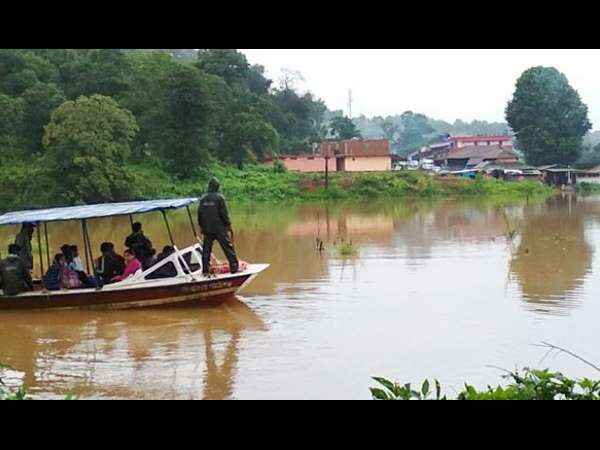 Heavy rain continues, flood situation in Kodagu