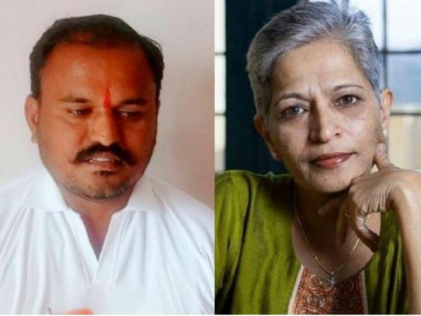 Judicial custody expended for Gauri Lankesh murder accused Naveen Kumar