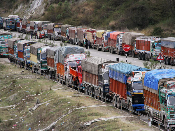 Indefinite lorry strike all over India from June 18