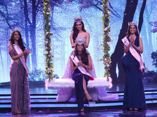 Tamil Nadus Anukreethy Vas Femina Miss India World 2018